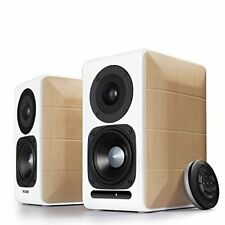 Edifier S880DB Active Hi Res Bookshelf Studio Speakers with Bluetooth white