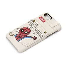 iPhone7 MARVEL hard case pocket Spider-Man PG-DCS165SPM Japan