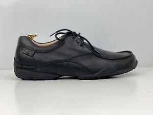 Clarks Flexlight Mens Black Leather Casual Shoe UK Size 8
