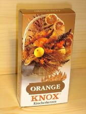 Knox Räucherkerzen, Orange, 113200