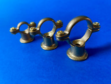 Solid Brass Pipe Brackets Diy Copper Pipe Project Fixings Pot Rack Fixings