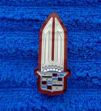 NEW NOS OEM 80s-90s Cadillac CHROME SILVER Tail Light Crest Ornament Emblem