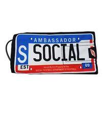 Social Paintball Barrel Condom Cover Bag - Ambassador License Plate New