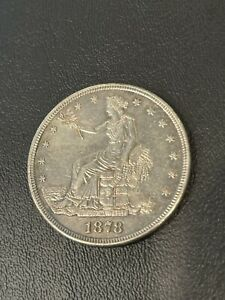 1878-S Trade Silver Dollar San Francisco