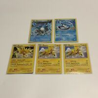 Zapdos & Articuno 23/108 Rare NM Pokemon XY Roaring Skies Legendary 5 Card Lot