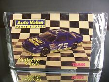 Sealed Auto Value Parts Stores Collector Cards 1994 Tracks Pack NASCAR
