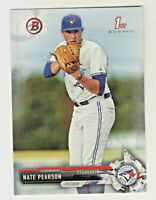 2017 Bowman Draft #BD-119 NATE PEARSON RC Rookie Toronto Blue Jays QTY AVAILABLE