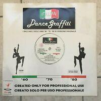 Russo / Bertè / Faust'o _ Italian Dance Graffiti _ Vinile LP 33 giri _ RARO
