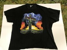 Slayer Touring In The Abyss Shirt Rare Vintage Brockum Xl