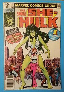 The Savage She Hulk #1 1st Appearance She Hulk 1979 Marvel Comics