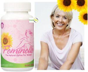 Feminelle 120 Capsules Control Menopause Woman Menopausia Laura Flores Feminel