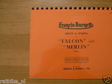 F0100 FRANCIS-BARNETT---HINTS AND SPARES FOR FALCON AND MERLIN---MARK 10D + MARK