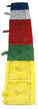 Drapeaux à Prières Banniere pour Mat Lungta 265x63cm 7 Prieres  945 AE