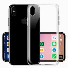 For iPhone X 8 6 7 Case Ultra Slim Crystal Clear Protector Shockproof Soft Cover