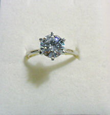 925 St silver ring, made with Swarovski crystal, size 'N' US 6.5