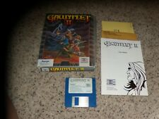 Gauntlet II Commodore Amiga with box and game manual