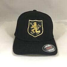 Navy Seal Team 6 Devgru Gold Team Flexfit Hat Yupoong Wool Blend 6477 Cap Black