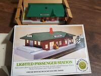 HO scale Lighted Passenger Station Model Kit