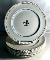 """8 Johnson Brothers Prince Of Wales 10"""" Dinner Plates"""