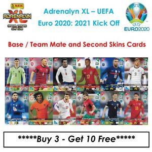 Panini Adrenalyn XL - UEFA Euro 2020: 2021 Kick Off: Team Mate & Second Skin