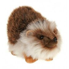 "Hansa Hedgehog 11"" Plush Stuffed Animal Hand Made 3341 3+ Boys & Girls"