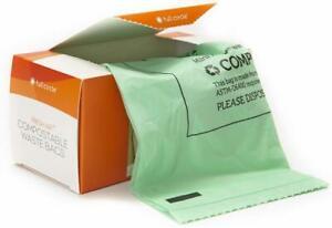Fresh Air Biodegradable Compost Waste Bags by Full Circle, 25 bags Lemon