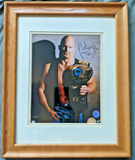 WWF Stone Cold Steve Austin Signed Photo Framed