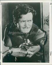 1926 Douglas Fairbanks as The Black Pirate Original News Service Photo
