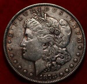 1878 8TF  Philadelphia Mint Silver Morgan Dollar