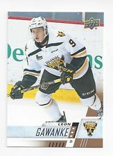 2017-18 Upper Deck CHL #231 Leon Gawanke (Winnipeg Jets)