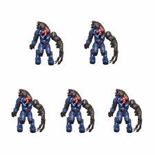 Lot of 5 Mega Bloks HALO Flood Elite Loose Action Figure