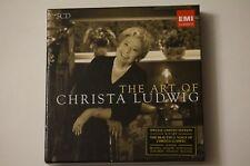 THE ART OF CHRISTA LUDWIG [BOX SET] USED - CD - SELF TITLED MINT