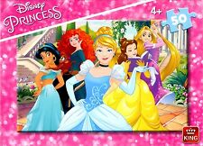 CHILDRENS KIDS GIRLS (4+) 50 PIECE DISNEY PRINCESS JIGSAW PUZZLE 05318A