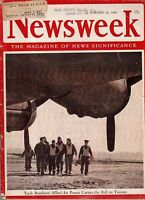 1943 Newsweek April 19 - Hitler's Military mistakes; Red Wings win Stanley Cup