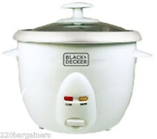 Black And Decker RC1050 220 Volt 5-Cup Rice Cooker (FOR EXPORT) Not For USA 220v