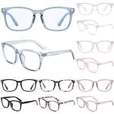 Women Men Blue Light Blocking Spectacles Anti Eye Strain Glasses Game Radiation