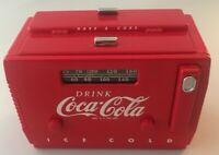 1998  COCA-COLA COOLER AM/FM RADIO / BANK NIB  CS5 - B624