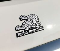 HR-IMOTION History Relief Emblem Turbo Injection 8 cm Schild selbstklebend