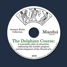 The Delphian course by The Delphian society – 10 Volume PDF E-Books 1 Data DVD