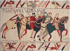 """NEW 26"""" X 19"""" WALL HANGING REPRODUCTION OF PART OF THE BAYEUX TAPESTRY"""