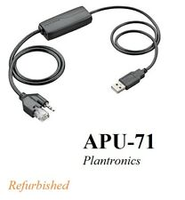 Plantronics APU-71 Electronic Hook Switch EHS Adapter Cisco and Nortel AS APU-72