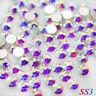 1440pcs SS3(1.5mm) Crystal AB Flat back Rhinestones Glass 3D Nail Art Decoration