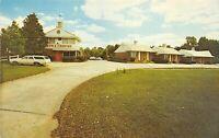 Atlanta Georgia GA 1960s Postcard Town & Country Hotel Courts