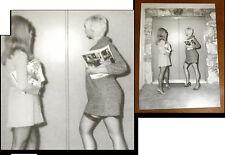 Postkarte EROTIK ELMER BATTERS Bein feet LEGS NYLONS Strümpfe HIGH HEELS Fetisch