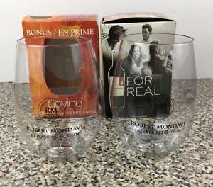 Robert Mondavi Wine Private Selection Govino Shatterproof Wine Glass Set of 2