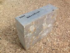 ALLUMINIO 2099 T83 PIAZZA Billet 340 x 275 x 100 BAR residuo di blocco piastra in bianco