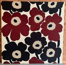 Bold Vintage 60s Marimekko Unikko Cloth Wall Hanging Tapestry Mid Century Modern