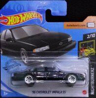 Hot wheels '96 Chevrolet Impala SS Nightburnerz 2/10 2020 232/250 GHB74-D521