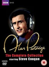 ALAN PARTRIDGE COMPLETE SERIES COLLECTION DVD Patridge Brand New Sealed UK Relea