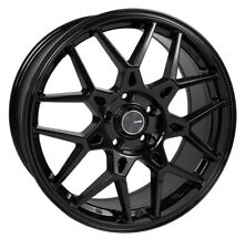 18x8 Enkei PDC 5x108 +45 Gloss Black Wheels Rims Set(4)